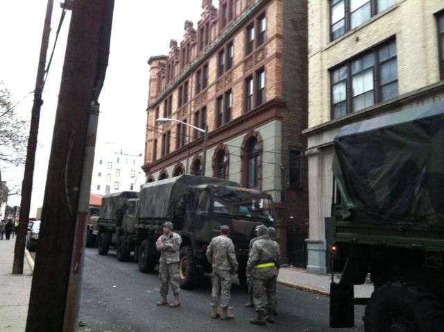 National Guard in Hoboken